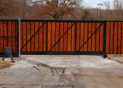 Rolling Commercial Gate