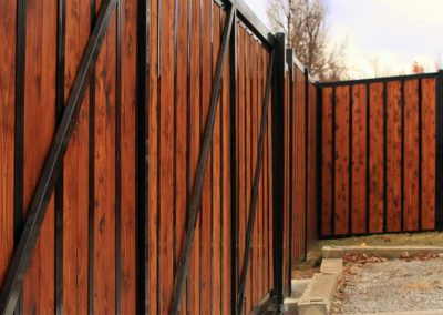 Heavy Duty Rolling Fence Gate