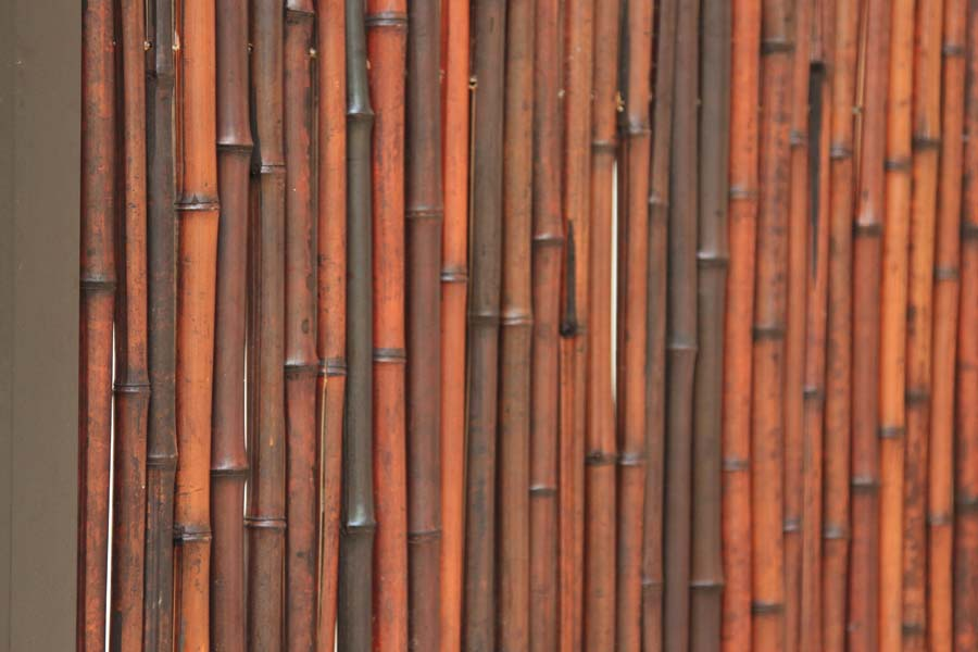 FenceTrac Bamboo Privacy Fence Metal Frame