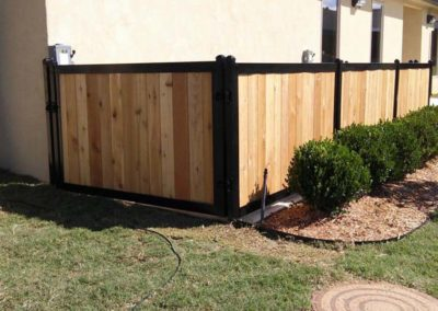 Residential Utility Enclosure Fence