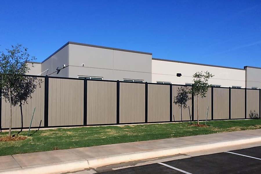 FenceTrac Commercial Perimeter Security Privacy Fence