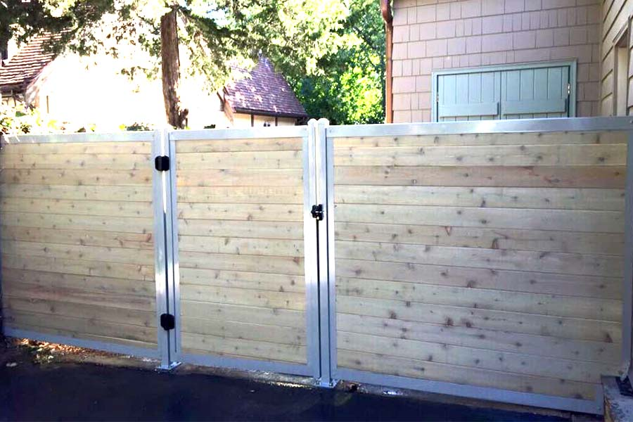 The Ultimate Collection of Privacy Fence Ideas (Create Any Design ...