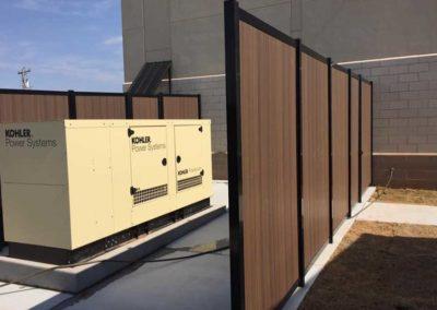 Generator Enclosure Privacy Fence