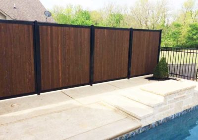 Pool Privacy Fence No Gaps