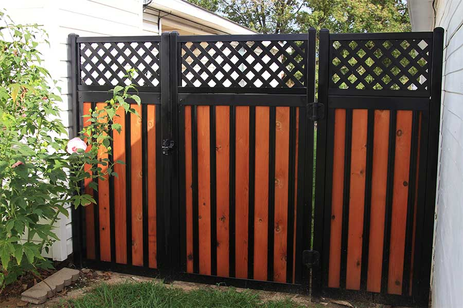 The Ultimate Collection of Privacy Fence Ideas (Create Any ... on Gate Color Ideas  id=94403