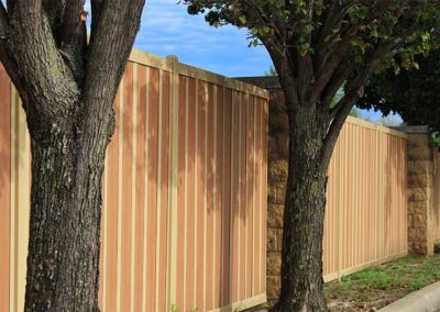 HOA Neighborhood Privacy Fence