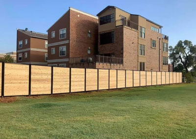 8' Tall Commercial Privacy Fence