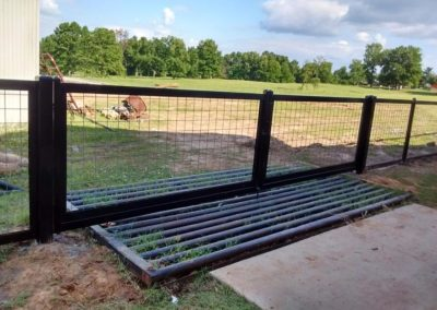 Hog Wire Fence Cattle Gate