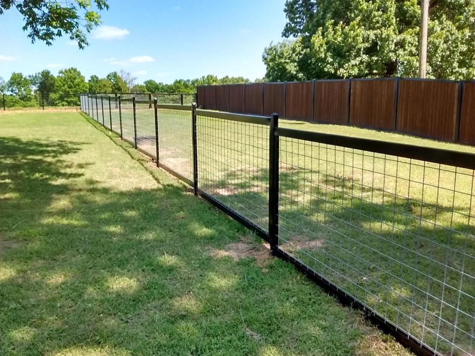 Hog Wire Fence Metal Frame